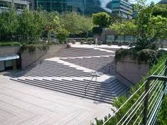 Image result for ramp stair landscape combinations