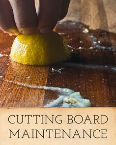 5 Steps To Cutting Board Happiness