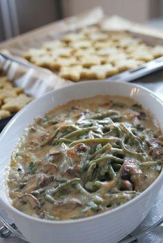 Green Bean Casserole (Bohnen-Pilz-Auflauf)