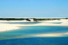 Lençóis Maranhenses National Park, in Maranhão State, is one of Brazil's top natural attractions.