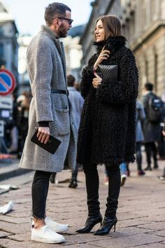 men's street style outfits for cool guys Fashion Milan, Trendy Fashion, Fashion Trends, Street Fashion, Fashion Styles, Trendy Clothing, Fashion Inspiration, Womens Fashion, Stylish Couple