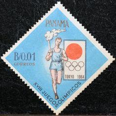 Panama (03) 1964 Olympic Games - Tokyo, Japan