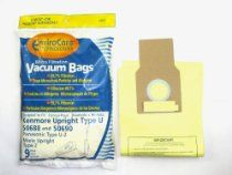 Kenmore 50688 Vacuum Bags Microfiltration with Closure - 10 Pack, Panasonic U-2 Vacuums. //  Description Anti-Bacterial Kenmore Upright 50688 and 50690 vacuum bags. Designed to capture and eliminate up to 99.7% of microns .5 and larger, and can capture microns down to .1 micron. A must have for any allergy sufferer, or asthmatic. These micro-lined bags are 40% more efficient then standard paper ba// read more >>> http://Gaughan699.iigogogo.tk/detail3.php?a=B002C0ITRM
