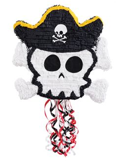 Next stop: Pinterest http://www.thepartyworks.com/little-buccaneer-pullstring-pinata