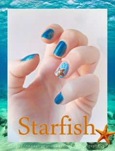 http://nessabyvanessaribeiro.blogspot.pt/2013/07/nails-starfish.html