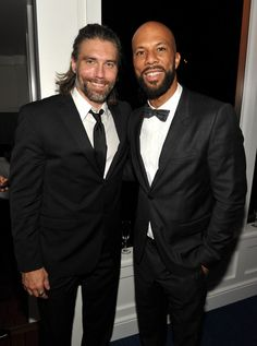 Anson Mount and Common -- And I haven't been watching Hell on Wheels why? LHM