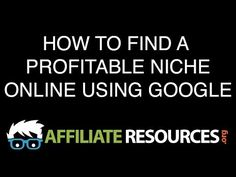 5 Steps to Finding Your Niche Market - YouTube
