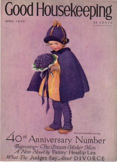 Apr 1925 Good Housekeeping Cover Only Jessie Wilcox Smith from azpaperlady on Ruby Lane