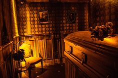 Coffin Room. Perfect for the dining room.