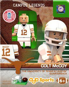 #12 Colt McCoy University of Texas Quarterback - Sue Patrick