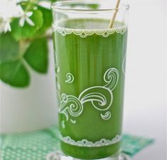 Green Leprechaun Cleansing Juice from The Alkaline Sisters. Zesty and delicious.