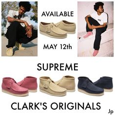 d1cbe4ffb16 Supreme Clark Originals Purchase only at Follow us on Twitter  https    ·  Supreme ClothingClarks ...
