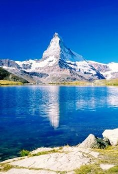 Mount Matterhorn, Alps, Switzerland.
