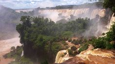 Iguassu Falls Argentina side. See for yourself! I can show you!