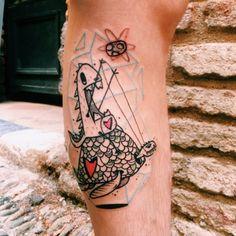 #tattoofriday - Matik Tattoo, Suíça.