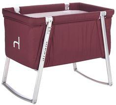 BabyHome Dream Portable Crib in Purple