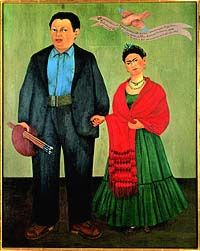 Frida Kahlo and Diego Rivera, 1931 by Frida Kahlo