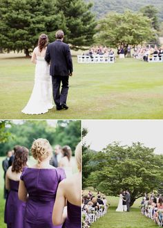 i love the idea of an outdoor wedding! but with my luck it would be really bad weather :(