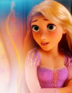 Number Four: Rapunzel! I like how Disney rearranged to story. Rapunzel is the first funny Disney Princess. I like how she is funny and adventures. Disney Rapunzel, Princess Rapunzel, Tangled Rapunzel, Disney Girls, Tangled 2010, Disney Dream, Disney Magic, Disney Art, Flynn Rider