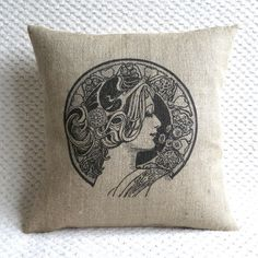 hessian cushions - Google Search