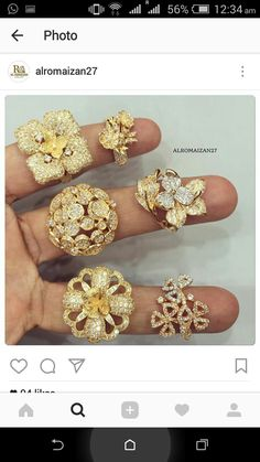 Is buying used jewelry a good idea? Everyone knows a lot of jewelers and dealers buy used jewelry, but does anyone really know what they end up doing with it? When someone sells their gold ring wit… Diamond Jewelry, Gold Jewelry, Gold N, Razzle Dazzle, My Secret Garden, Bridal Jewellery, Dream Ring, Shahrukh Khan, Disneyland