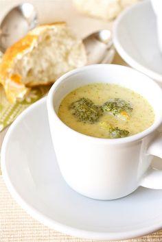 *Broccoli Cheddar Soup*  A lighter version....