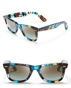 fcd99029ba62 Ray-Ban Color Block Wayfarer Sunglasses Jewelry   Accessories - Sunglasses  - All Sunglasses - Bloomingdale s
