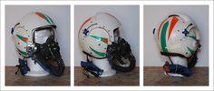 https://flic.kr/p/c6NunC | DSC_0011 | Flight helmet Sierra Eng. APH-6C and oxygen mask Scott MS22001. US NAVY 60s 70s 80s.