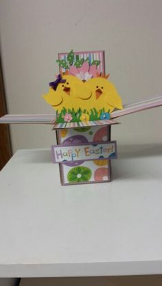 XXX   Easter card in a box!
