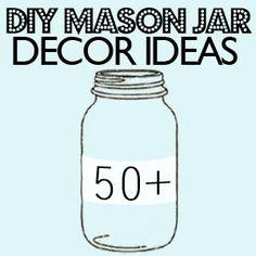 MASON JARS! lol Cheers crafts-i-ll-do-eventually o.O