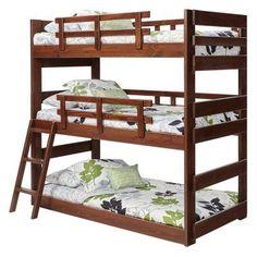 Woodcrest Heartland Triple Bunk Bed - X2633 SL