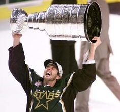 He is the all-time goal-scoring and points leader amongst American-born players in the NHL, Modano was drafted first overall by the North Stars in 1988, and after the team moved to Texas he helped the Dallas Stars win the Stanley Cup in 1999Modano is considered one of the most influential figures in popularizing hockey in Texas and the southern United States.Modano was inducted into the Hockey Hall of Fame in  2014.