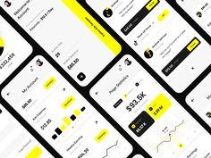Dashboard Mobile, Mobile Ui, Menu Design, Ui Design, Dashboard Design, Website Layout, Landing Page Design, Mobile App Design, Amazon Gifts