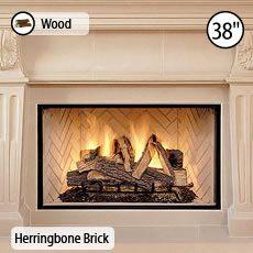 basic radiant fireplace