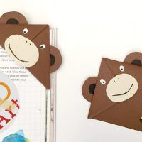 monkey bookmark YT