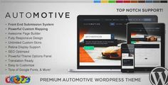 Download and review of WP Pro Automotive 2 Responsive WordPress Theme, one of the best Themeforest Corporative themes