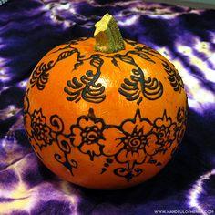 Henna Mini Pumpkin