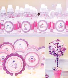 Pink & Purple Princess Birthday Party