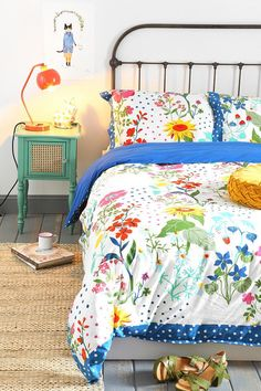 Plum & Bow Wild Bloom Duvet Cover #urbanoutfitters