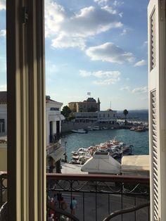 View from Alexandris Hotel Balconies Double Glazed Window, Balconies, In The Heart, Greece, Island, Nature, Travel, Beautiful, Naturaleza