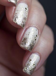 New Year's Nail Art | A Polish Addict check out www.MyNailPolishO... for more nail art ideas.