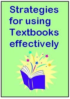 Making Text Books Work - Ideas for engaging students when you are stuck with a boring text book.
