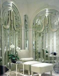 glass wall panelling