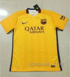 http://www.jordanaj.com/1516-barcelona-away-yellow-jordi-alba-18-soccer-jersey-shirt.html 15-16 BARCELONA AWAY YELLOW JORDI ALBA #18 SOCCER JERSEY SHIRT Only $78.00 , Free Shipping!