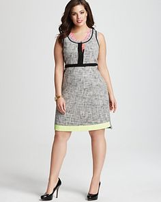 ea77afe97814f Tahari Woman Plus Size Jessie Dress Women - Plus - Dresses - Bloomingdale s