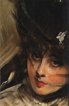 Giovanni Boldini Like the way he handled the features in the face