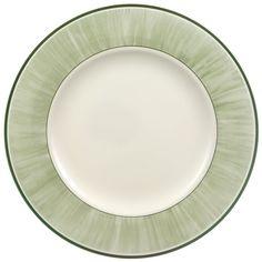 FLORA Dinner Plate : Grass 10 1/2 in