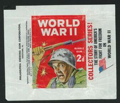 Philadelphia-Gum-War-Bulletin-Wax-Wrapper