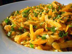 Ensalada de zanahoria rallada al estilo marroquí