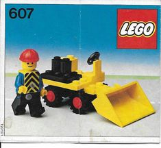 View LEGO instructions for Mini Loader set number 607 to help you build these LEGO sets Cool Minecraft Houses, Minecraft Skins, Minecraft Buildings, Hama Beads Minecraft, Perler Beads, Lego Super Mario, Lego Kits, Vintage Lego, Lego Group